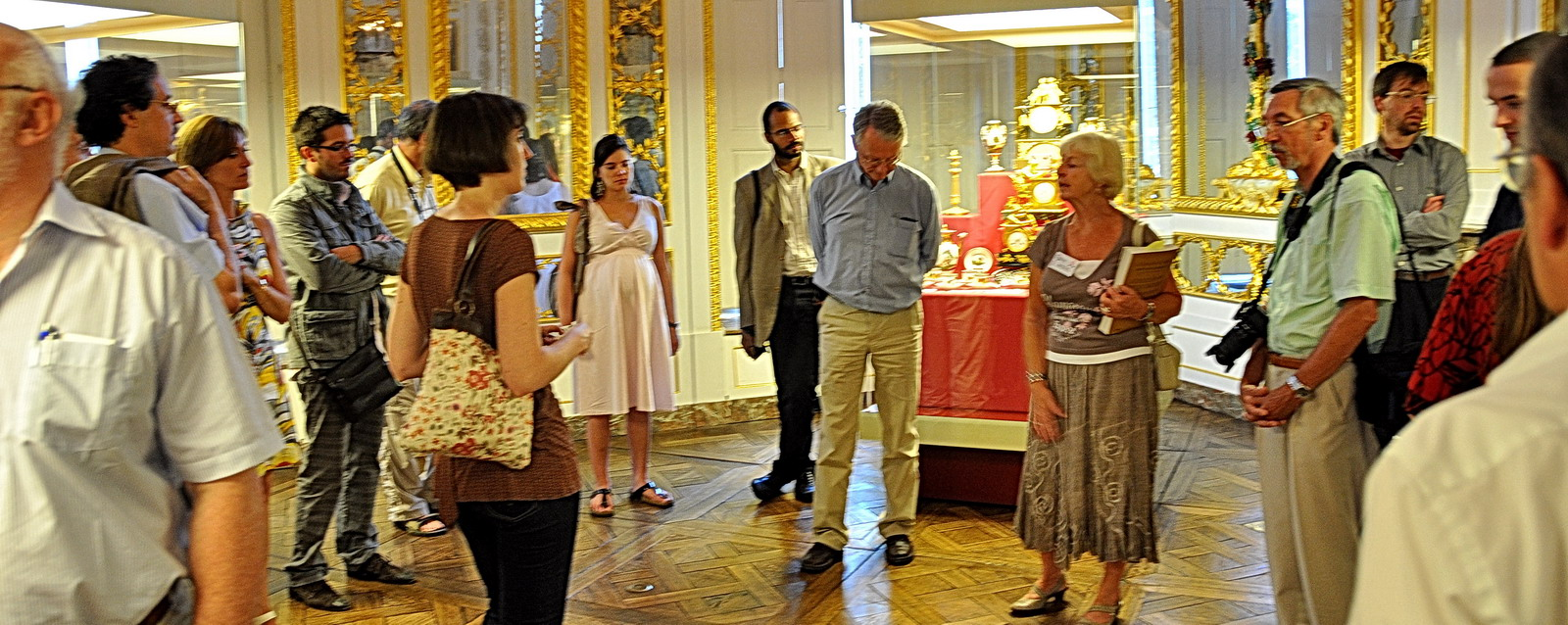 Musée Curtius - un public attentif