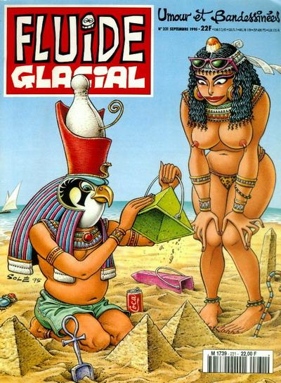 Mystère sur la construction des pyramides. Fluide Glacial l'a élucidé !